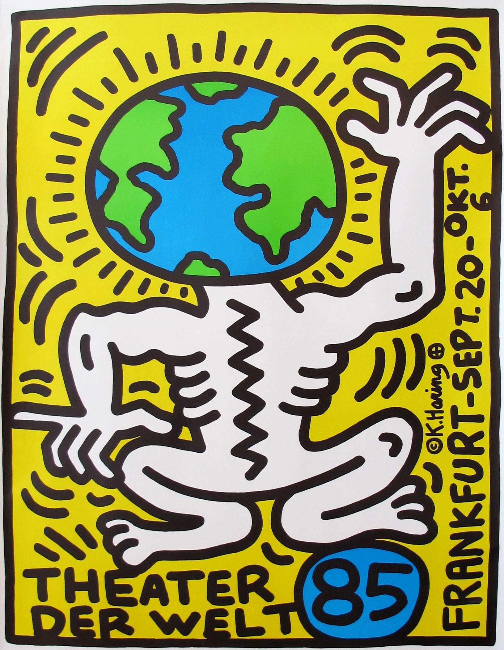 Graves international art keith haring for Graphic design frankfurt